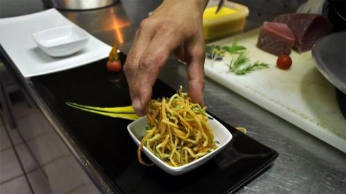 foto presentazione piatto cucina mediterranea